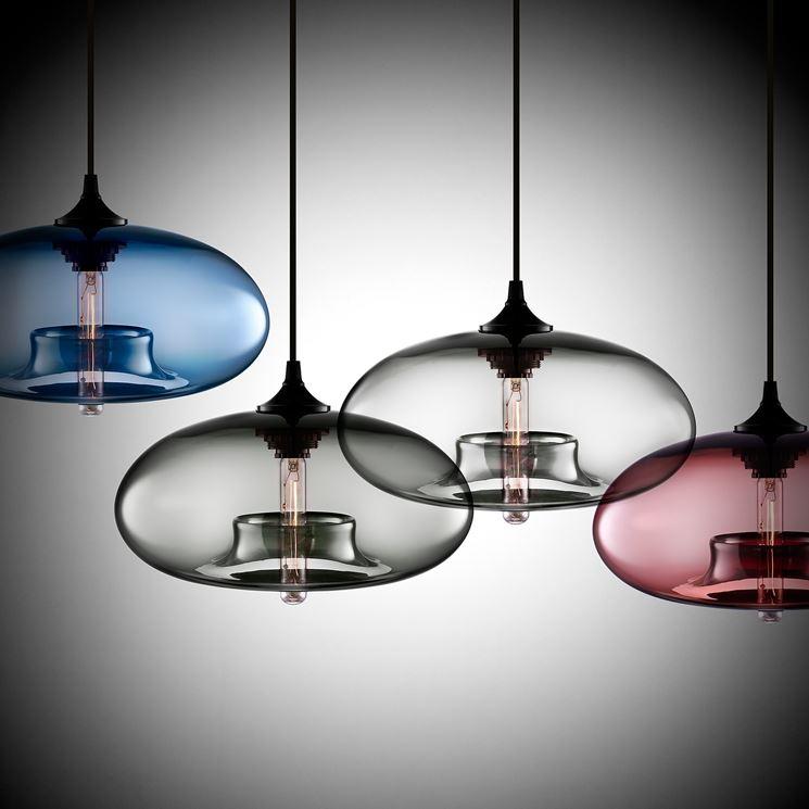 Lampadari in stile moderno