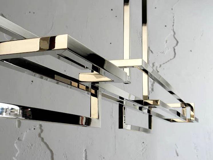 Modelli di lampadario moderno lampade e lampadine for O zone architecture