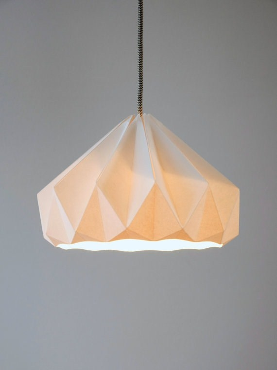 Modelli di lampade di carta origami - Lampade e lampadine - Modelli lampade di carta origami