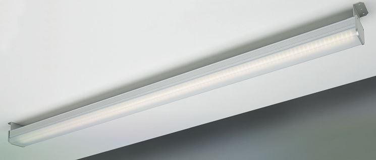 Modello di plafoniera led rettangolare