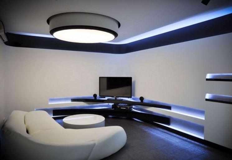 Plafoniera Tetto : Modelli di plafoniere a neon lampade e lampadine