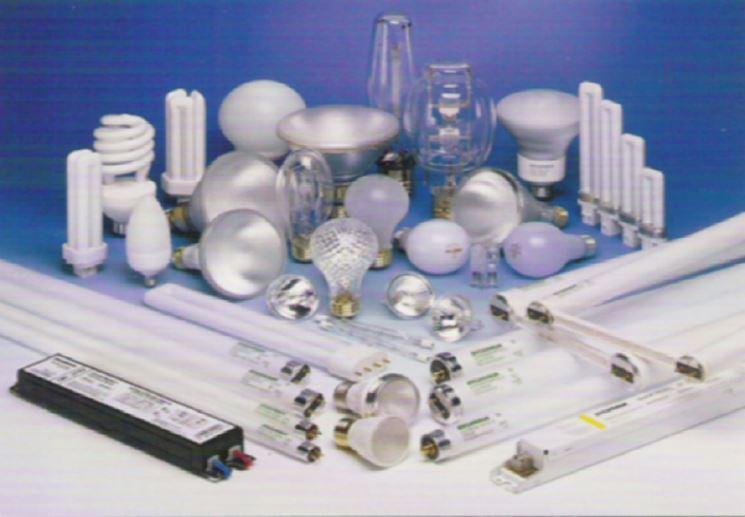 Modelli di lampade fluorescenti