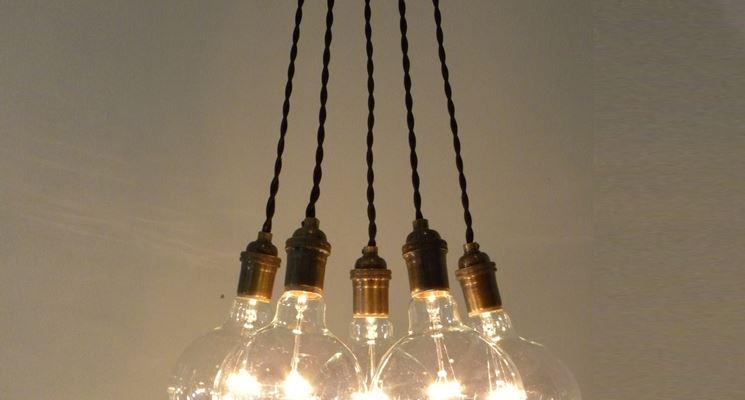 Tipologie di luci moderne lampade e lampadine for Luci arredo