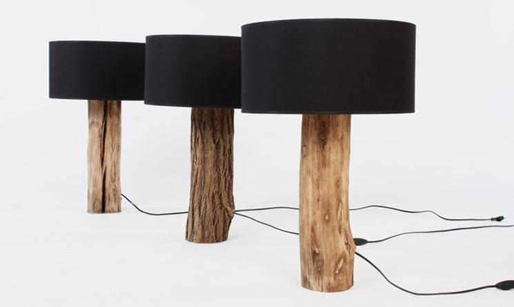 ... lampade in legno - Lampade e lampadine - Lampade in legno modelli