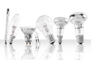 lampade a fluorescenza di diverse forme