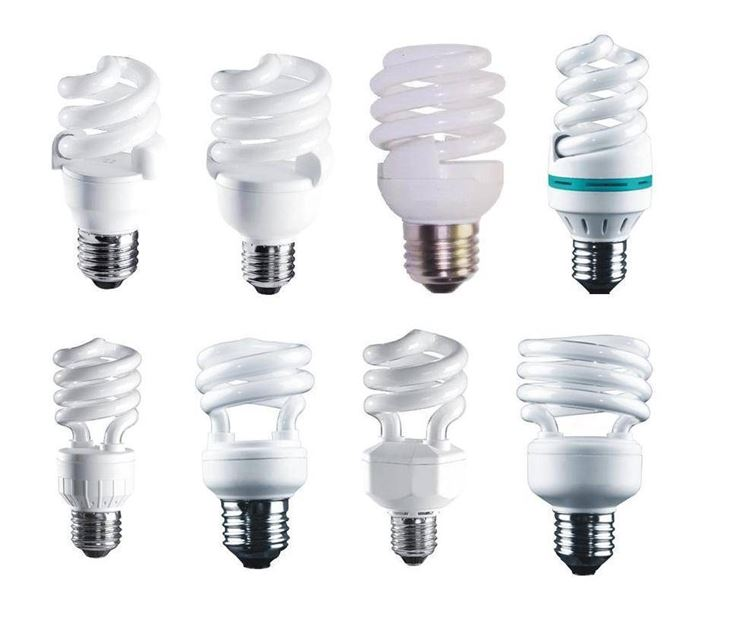Serie di lampade a fluorescenza