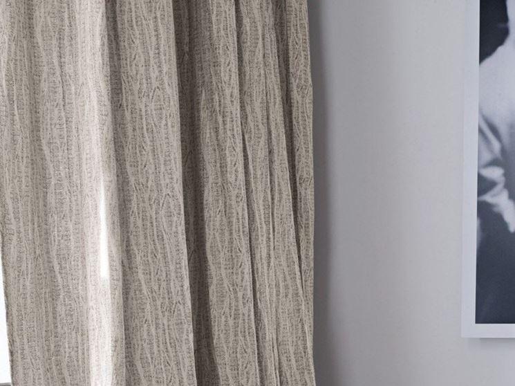 Modelli di tende in lino - scelta Tendaggi - Tende in lino