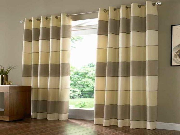 Modelli di tende per finestre - scelta Tendaggi - Come scegliere i ...