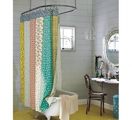 Modelli di tende per vasca da bagno scelta tendaggi for Tende per doccia