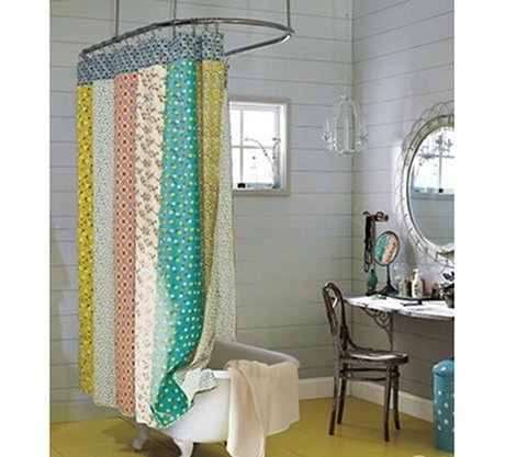Modelli di tende per vasca da bagno scelta tendaggi - Tende vasca da bagno ...