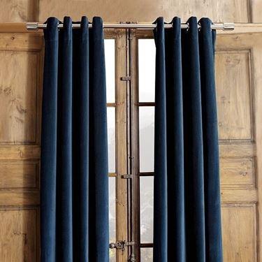 tende moderne blu