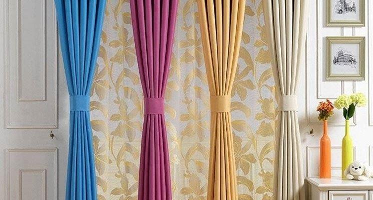 Scegliere le tende a vetro - scelta Tendaggi - Come scegliere le ...