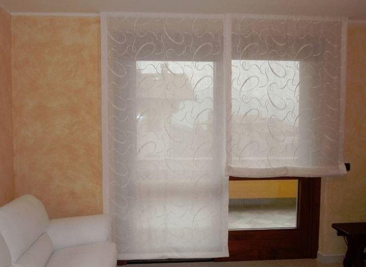 Tende a pacchetto moderne scelta tendaggi tutto sulle tende a pacchetto moderne - Tende a vetro per bagno ...