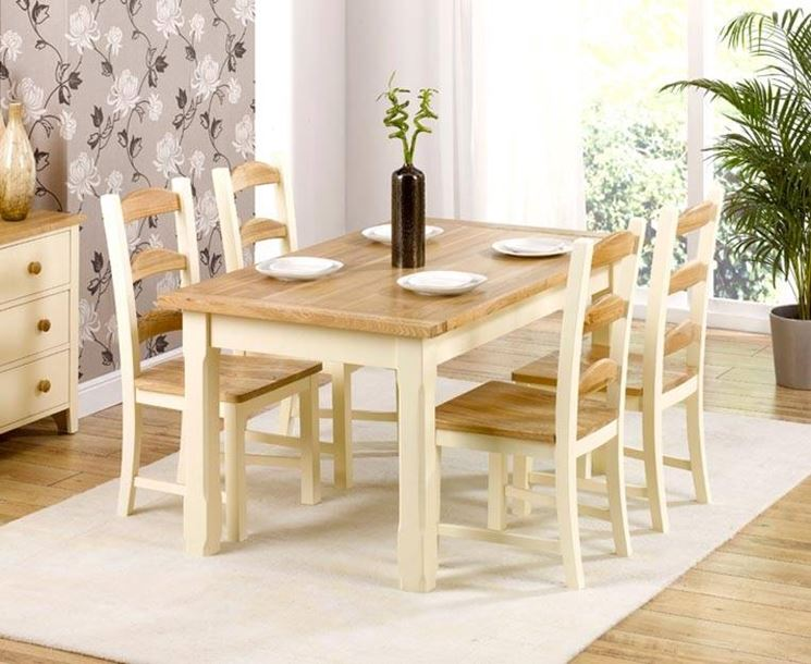 Caratteristiche fondamentali dei tavoli da pranzo tavoli - Altezza tavolo da pranzo ...