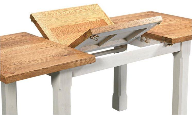 Come scegliere i tavoli allungabili tavoli e tavolini - Tavoli ribaltabili a parete ...