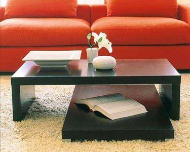 Tavolo da soggiorno su pi� ripiani