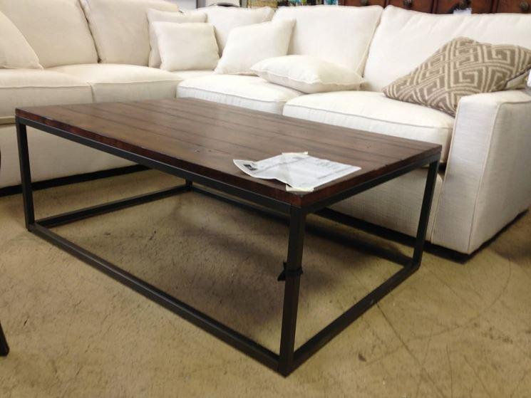 tavolo da soggiorno semplice