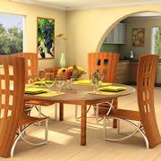 Tavolo rotondo in legno