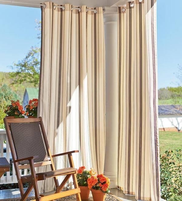 Come scegliere le tende da giardino tende e tendaggi come scegliere le tende da giardino - Tende da esterno a caduta ...