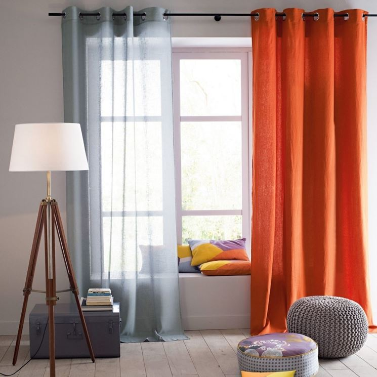 Migliori tende da interni tende e tendaggi quali sono for Tipi di tende da interno