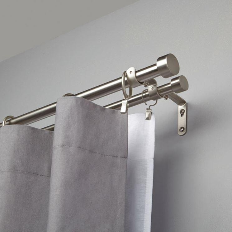 Modelli di bastoni per tende tende e tendaggi modelli - Ikea bastoni per tende ...
