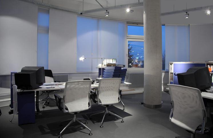 Foto Ufficio Moderno : Scegliere le tende per ufficio tende e tendaggi tende ufficio