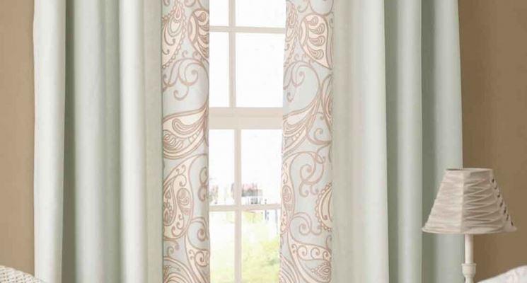 Stili delle tendine per finestre tende e tendaggi tendine per finestre - Tende da camera da letto classiche ...