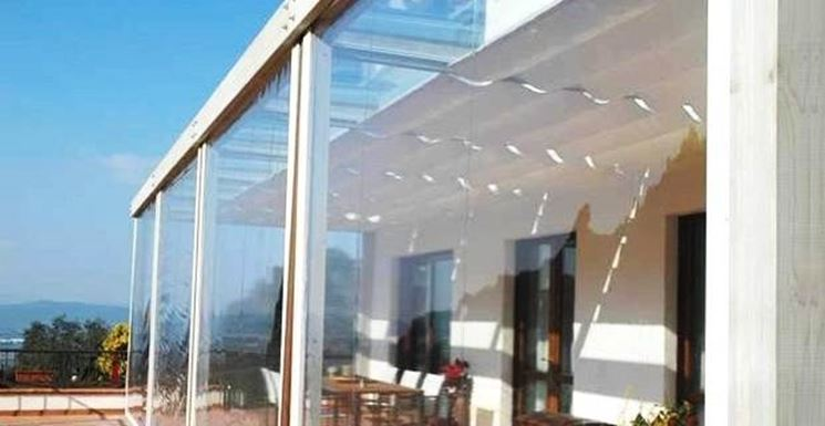 Coperture Trasparenti Per Esterni. Trendy Foto Tende Da Sole E ...
