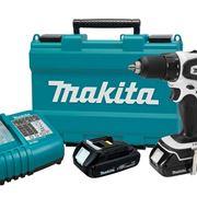 Avvitatore Makita con batteria di ricambio