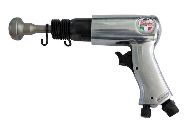 Utilizzo del martello pneumatico
