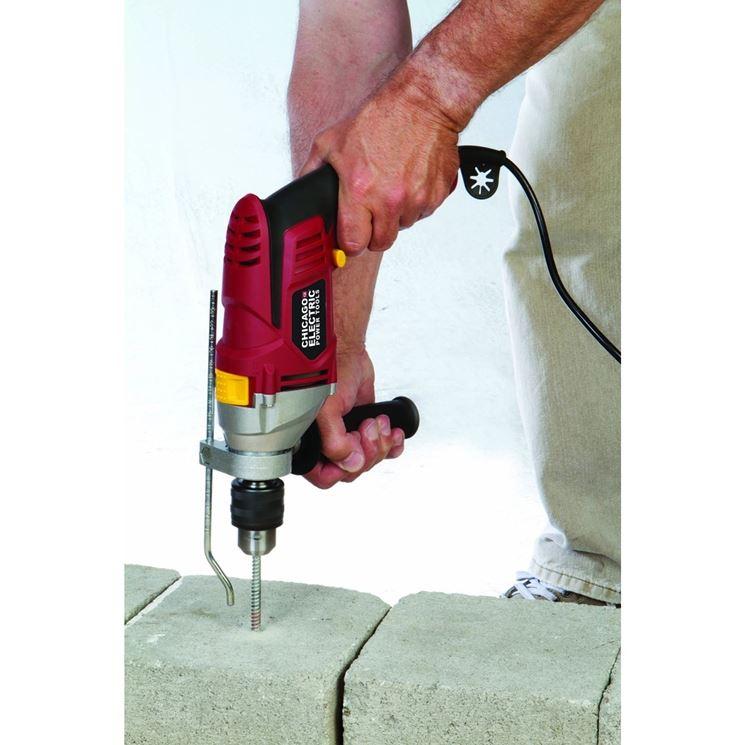 Perforazione del cemento