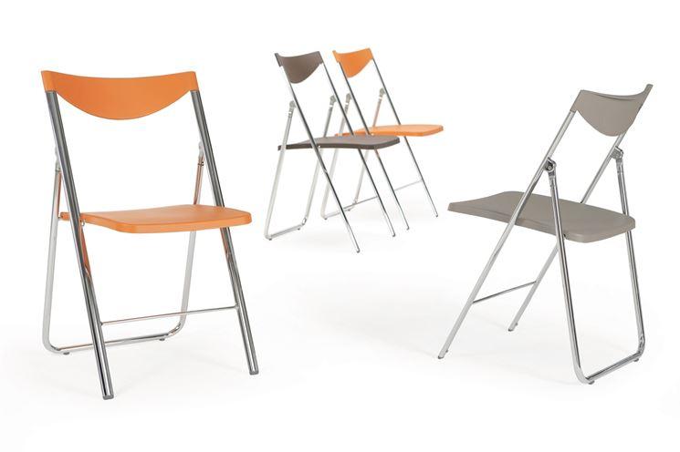 Modello di sedia pieghevole