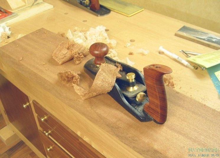 Pialla per levigare il legno