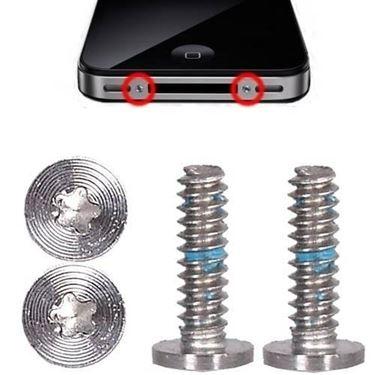 viti torx di serraggio scocca posteriore batteria iphone 4s