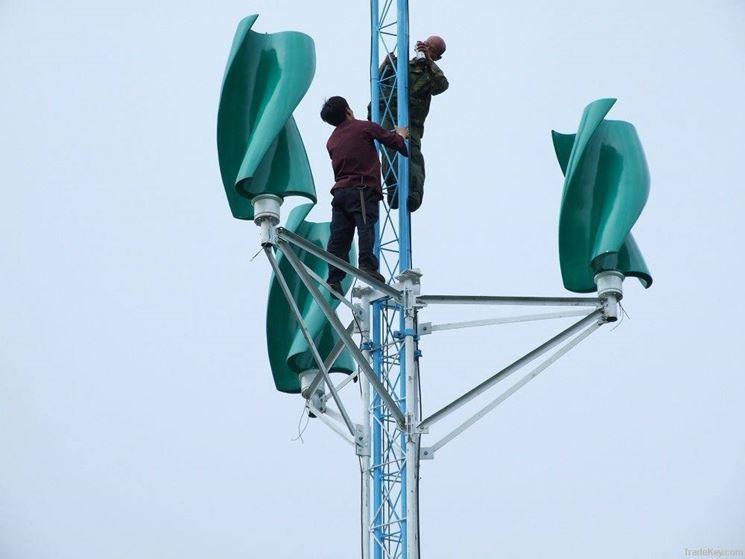 Tra i vantaggi dell'eolico verticale, c'è soprattutto il limitato ingombro