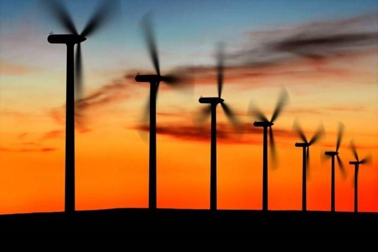 L'eolico limita le emissioni inquinanti