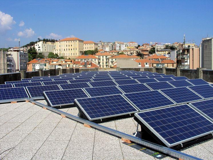 Tetto affittato per fotovoltaico