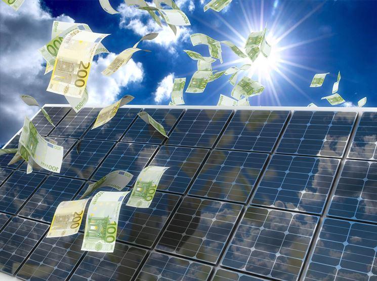 Guadagno con i pannelli fotovoltaiciFonte: www.magazine.greenplanner.it