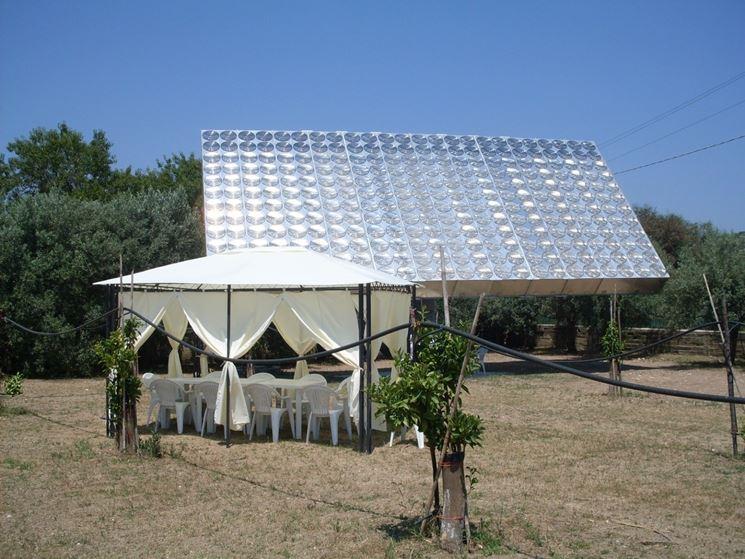 Impianto fotovoltaico a concentrazione