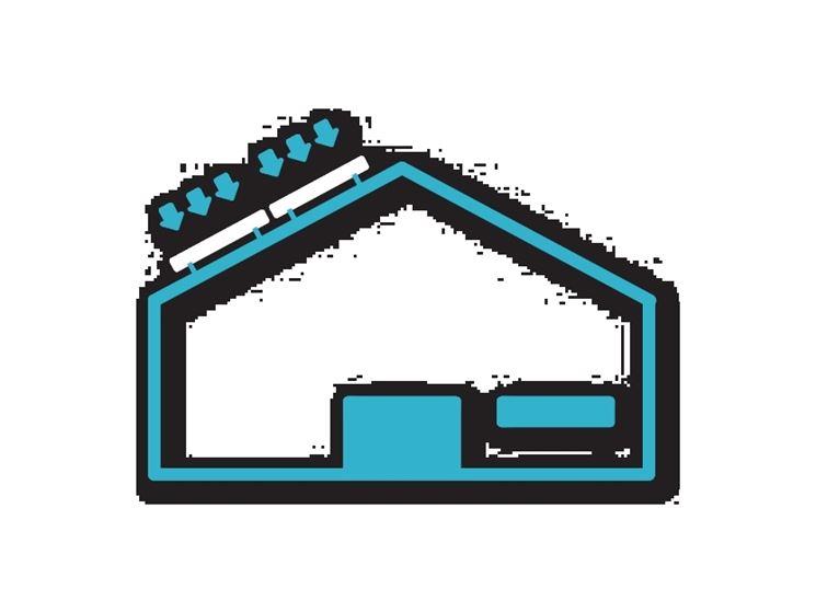 I pannelli sul tetto di casa