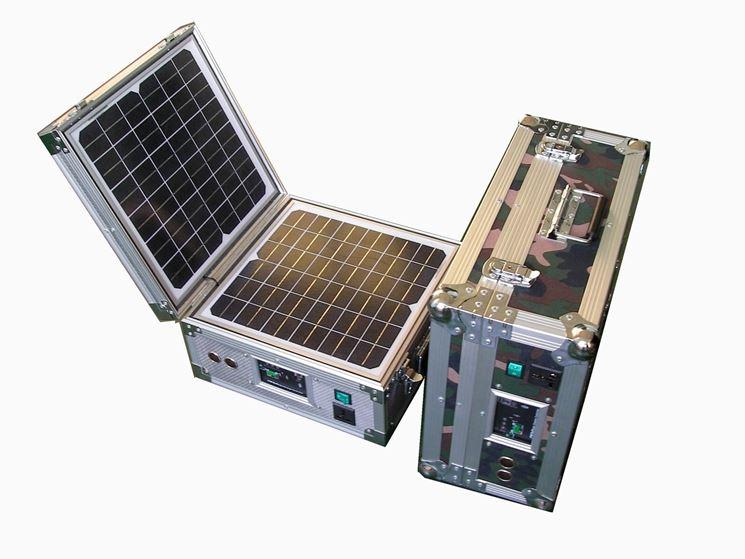 Batteria solare portatile