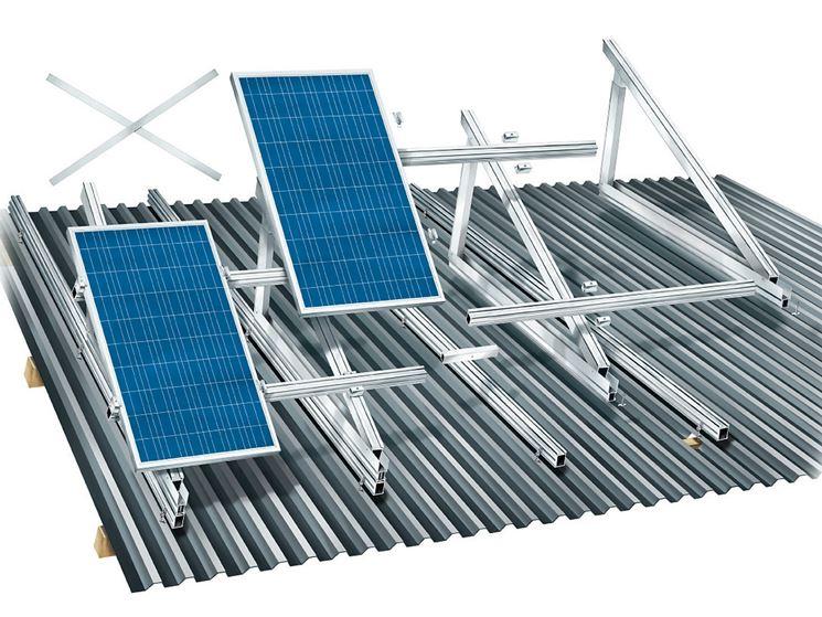 Pannelli solari in abitazione privata