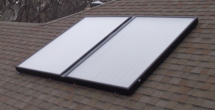Pannelli solari termici vetrati