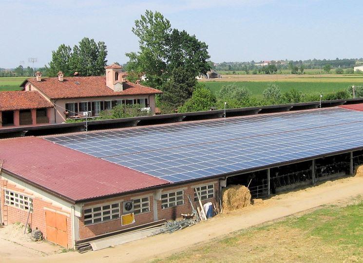 Sfruttamento di una superficie di grandi dimensioni per l'installazione di pannelli solari