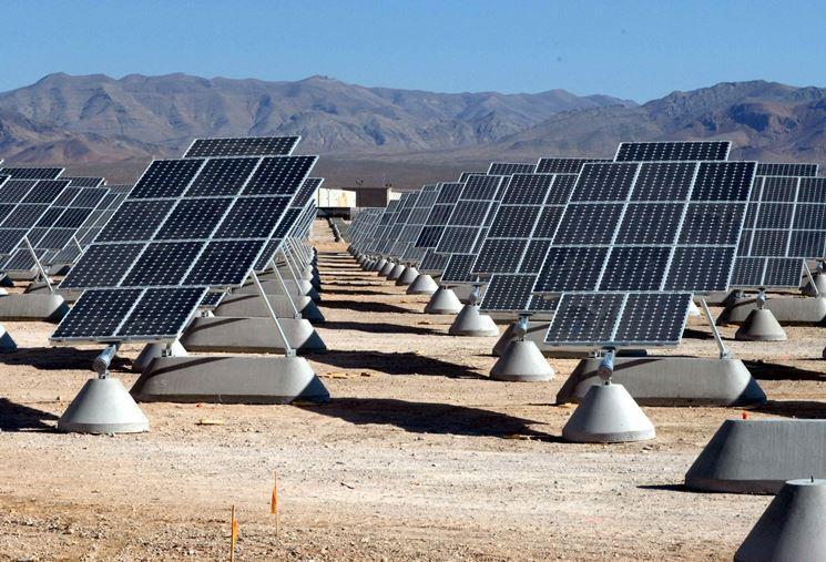 Esempio installazione pannelli fotovoltaici