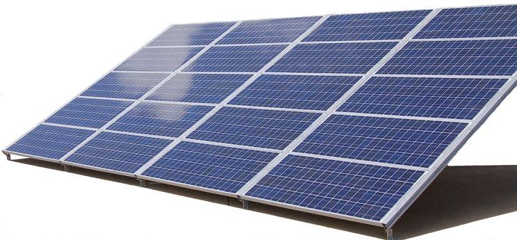 Struttura pannello solare