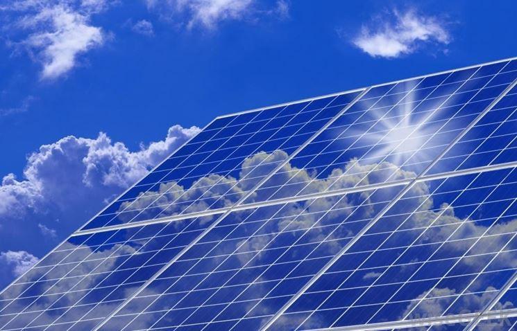 Celle di un pannello fotovoltaico