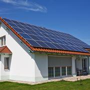 Schema del funzionamento di un impianto fotovoltaico.