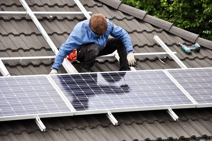 Prezzo pannelli fotovoltaici in rapporto alla capacità installata.