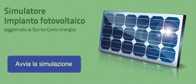 Un esempio di simulatore di impianto fotovoltaico